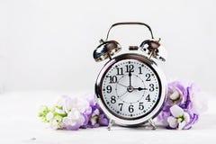 Cambiamento di tempo di primavera fotografia stock