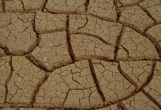 Cambiamento globale di Clima: Terra asciutta, nessun'acqua, deserto Fotografia Stock