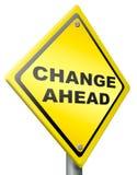 Cambie a continuación el cambio y la mejora mejor Fotografía de archivo