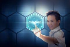 Cambie el concepto de la tecnología de la vida Imagenes de archivo