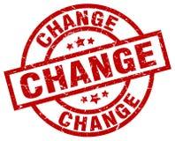 Cambie el sello stock de ilustración