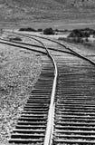 Cambie en pista de ferrocarril Imagenes de archivo