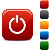 Cambie los iconos. stock de ilustración