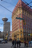 Cambie street in Vancouver's Gastown Stock Image