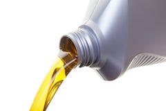 Cambio de aceite Imagen de archivo libre de regalías