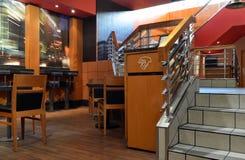 Cambio de imagen de los muebles de Mc Donald Imagen de archivo