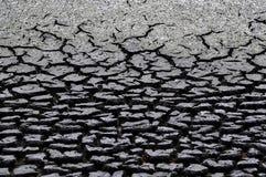 Cambio del clima - suelo seco fotografía de archivo