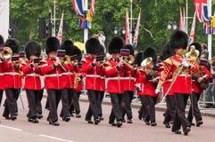 Cambio del guardia, Londres Imágenes de archivo libres de regalías