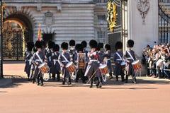 Cambio del protector, Buckingham Palace Imagenes de archivo