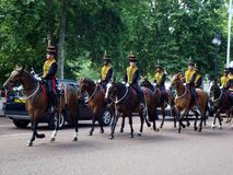 Cambio del protector Londres fotos de archivo libres de regalías