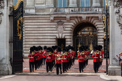 Cambio del protector Londres Imagen de archivo