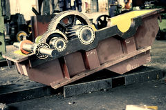 Cambio industriale Fotografie Stock
