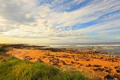 Cambo Beach, fife, Scotland Royalty Free Stock Images