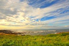 Cambo Beach, fife, Scotland Royalty Free Stock Photos
