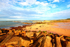 Cambo Beach, Fife, Scotland Stock Photography
