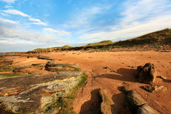 Cambo Sands in Scotland Royalty Free Stock Image
