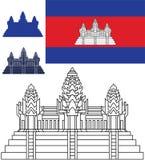 cambodia Arkivbild