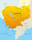Cambodia Royalty Free Stock Photos