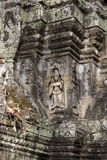 Cambodia, ancient statue Royalty Free Stock Images