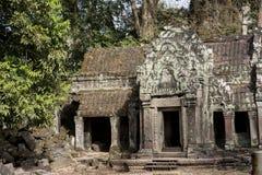 Cambodia, ancient Temple Royalty Free Stock Photo