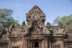 Cambodia, ancient Temple Royalty Free Stock Photo