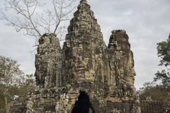 Cambodia, ancient Temple Royalty Free Stock Photography