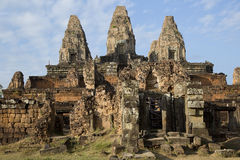 Cambodia, ancient Temple Royalty Free Stock Photos
