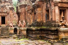 Cambodia - Angkor - Banteay Srei Stock Images
