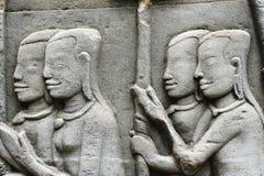 Cambodia; angkor; bayon temple Stock Images