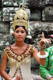 Cambodia; Angkor; Dancer Stock Photography