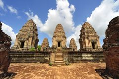 Cambodia Angkor East Mebon Temple Stock Photos