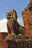 Cambodia Angkor East Mebon temple Royalty Free Stock Photography
