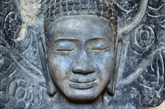Cambodia Angkor East Mebon temple's statue Royalty Free Stock Images