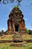 Cambodia Angkor Roluos the Bakong Royalty Free Stock Image