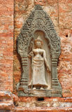 Cambodia Angkor Roluos the Lolei Royalty Free Stock Photo