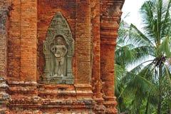 Cambodia Angkor Roluos o templo de Lolei Fotografia de Stock