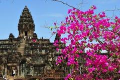 Cambodia Angkor Roluos view of the Bakong temple Royalty Free Stock Photos