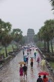 Cambodia Angkor Wat monsoon season Stock Photo