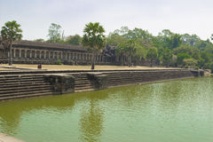 Cambodia.Angkor Wat. Royalty Free Stock Photo