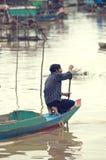 cambodia aproszy tonle ludzie Zdjęcia Royalty Free