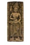 Cambodia art apsara sculpture Stock Photo