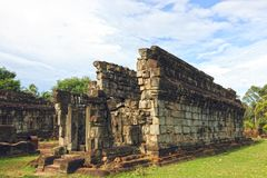 Cambodia - Bakong temple Royalty Free Stock Photos
