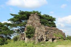 cambodia Banteay Chhmar tempel Banteay Meanchey landskap Sisophon Sity Fotografering för Bildbyråer