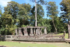 Cambodia. Banteay Kdei Temple. Siem Reap Province. Siem Reap City. royalty free stock photography