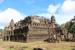 cambodia Baphuon tempel Siem Reap landskap Siem Reap stad Royaltyfria Foton