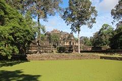 cambodia Baphuon tempel Siem Reap landskap Siem Reap stad Fotografering för Bildbyråer
