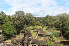 cambodia Baphuon tempel Siem Reap landskap Siem Reap stad Arkivfoto