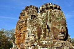 Cambodia - Bayon temple. Angkor Wat, Siem Reap area (Cambodia) - Bayon temple, well-known and richly decorated temple Royalty Free Stock Images