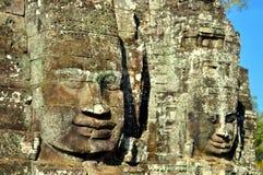 Cambodia - Bayon temple. Angkor Wat, Siem Reap area (Cambodia) - Bayon temple, well-known and richly decorated temple Stock Image