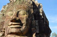 Cambodia - Bayon temple. Angkor Wat, Siem Reap area (Cambodia) - Bayon temple, well-known and richly decorated temple Stock Photo